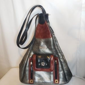 Joanel convertible bag vegan leather back pack